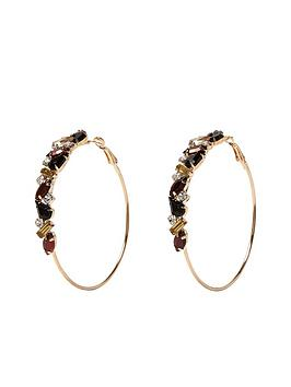 river-island-bronze-and-jet-stone-hoops