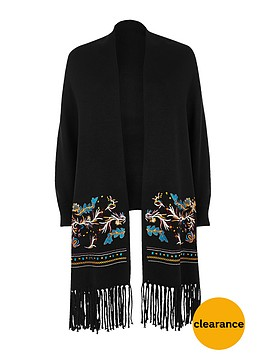 river-island-embroiderednbspcardigan-and-scarfnbsp