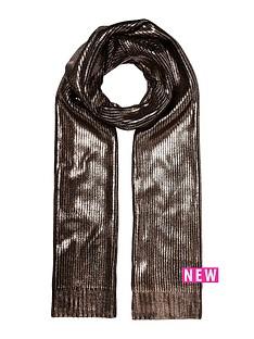 river-island-metallic-scarf