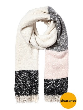 river-island-block-supersoft-scarf-nude