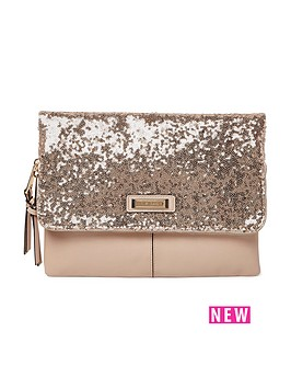 river-island-sequin-foldover-clutch