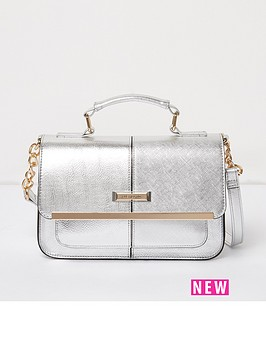 river-island-mini-satchel-silver