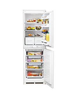 Indesit Inc325Ff Built-In 55Cm Fridge Freezer - White - Fridge Freezer Only Best Price, Cheapest Prices