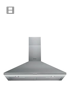 indesit-ihpc94amx-90cm-built-in-cooker-hood-stainless-steel