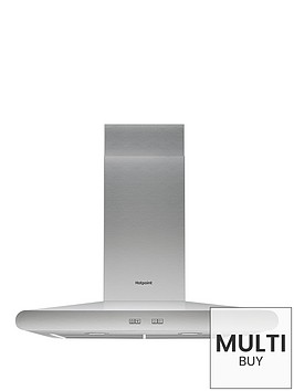 hotpoint-phc67flbix-60cm-built-in-cooker-hood-stainless-steel