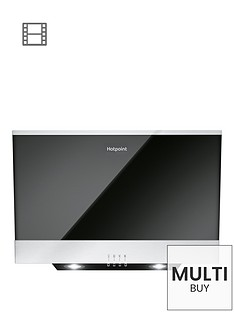 hotpoint-phvp66flmk-60cm-built-in-cooker-hood-blackstainless-steel