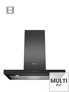 hotpoint-phbs98cltdk-90cm-built-in-cooker-hood-black