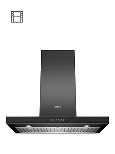 hotpoint-phbs98cltdk-90cm-built-in-cooker-hood-black