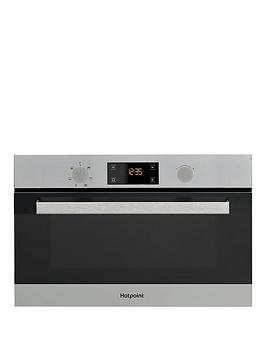 hotpoint-md344ixh-60cm-built-in-microwave-with-grill-stainless-steel