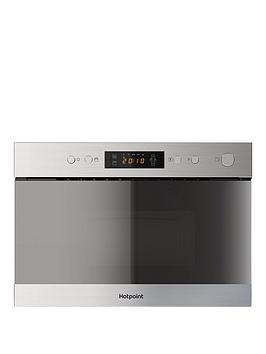 hotpoint-mn314ixh-60cm-built-in-microwave-grill-stainless-steel