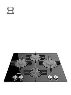 hotpoint-ftghg641dhbk-60cm-built-in-gas-hob-with-fsd-black