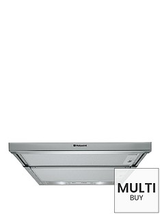 hotpoint-first-editionnbsphsfx1-60cm-built-in-telescopic-cooker-hood--nbspstainless-steel