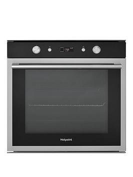 hotpoint-si6864shix-60cm-built-in-electric-single-oven-blackstainless-steel
