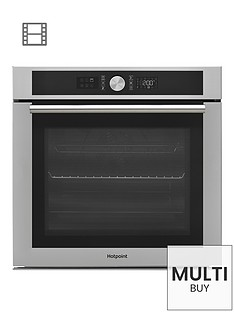 hotpoint-class-4-si4854pix-60cm-built-in-electric-single-oven-with-optional-installation-stainless-steel