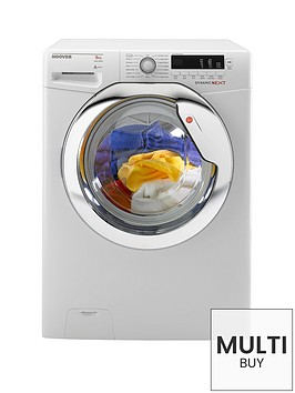 hoover-dynamic-next-classic-dxcc49w3-9kg-load-1400-spin-washing-machine-white