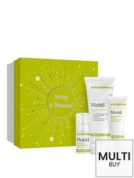 murad-merry-and-renewed-gift-setnbspamp-free-murad-peel-polish-amp-plump-gift-set