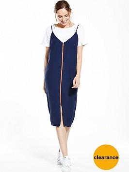 v-by-very-zip-front-slip-dress