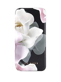 ted-baker-knowane-folio-case-with-mirror-for-iphone-67-porcelain-rose-black