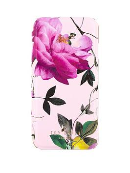 ted-baker-venece-folio-case-with-mirror-for-iphone-67-citrus-bloom-nude