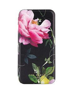 ted-baker-venece-folio-case-with-mirror-for-iphone-67-citrus-bloom-black