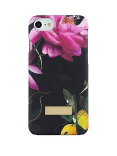 ted-baker-soft-feel-case-for-iphone-67-citrus-bloom-black