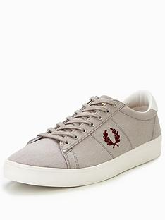 fred-perry-spencer-canvas-trainer