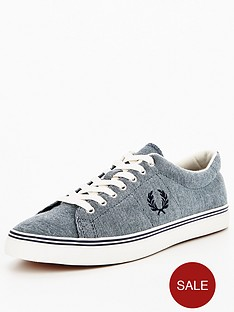 fred-perry-underspin-oxford-pique-plimsolls