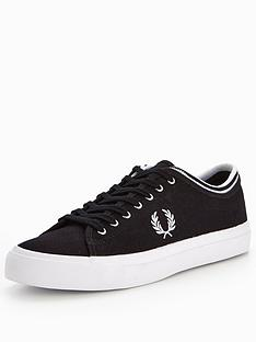 fred-perry-fred-perry-kendrick-tipped-cuff-canvas-plimsoll