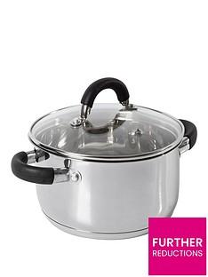 tower-essentials-24cm-stainless-steel-casserole-dish