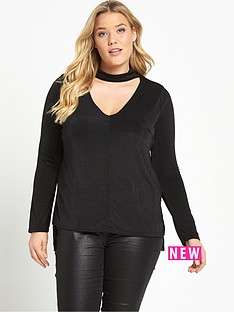 lost-ink-curve-lost-ink-curve-v-neck-top-with-tie-sleeves