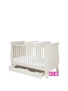 mamas-papas-mia-cot-bed-underbed-storage-amp-cot-top-changer-grey