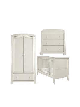 mamas-papas-mamas-amp-papas-mia-sleigh-cot-bed-dresser-amp-wardrobe--grey
