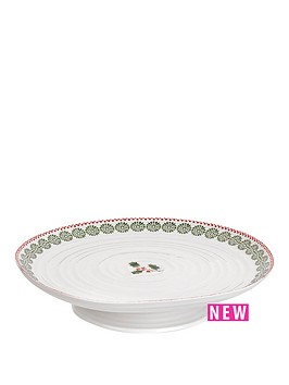 portmeirion-sophie-conran-for-christmas-footed-cake-plate
