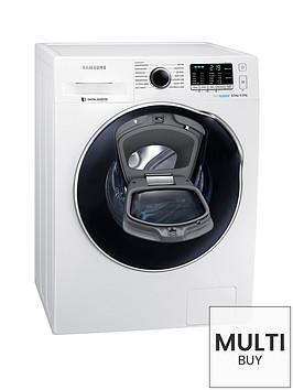 samsung-wd80k5410oweunbsp8kg-wash-6kg-dry-1400-spinnbspaddwashtrade-washer-dryer-with-ecobubbletrade-technology-white