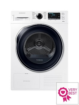 samsung-dv80k6010cweu-8kgnbspload-tumble-dryer-with-heatnbsppump-technology-white