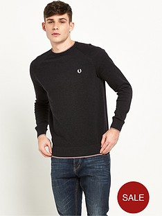 fred-perry-micro-bomber-tipped-crew-nec