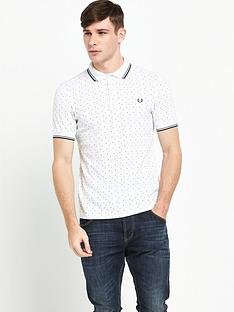 fred-perry-square-print-polo