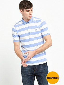 fred-perry-striped-polo