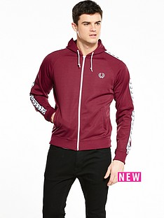fred-perry-sports-authentic-hooded-track-jacket