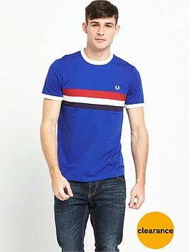 fred-perry-striped-panel-ringer-t-shirt