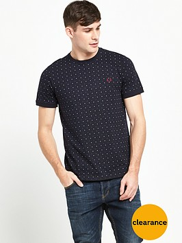fred-perry-square-print-t-shirt