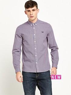 fred-perry-basketweave-long-sleeve-shirt