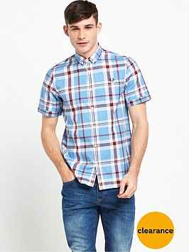 fred-perry-bold-check-short-sleeve-shirt