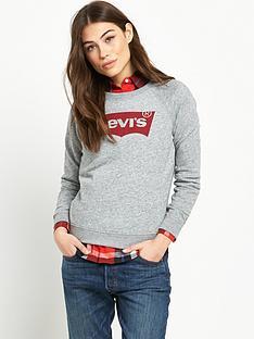 levis-classic-crew-sweatshirt-grey
