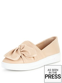 v-by-very-gia-knotted-front-skate-shoe
