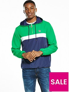 fila-fila-colour-blocked-cagoule-with-self-packable-bag
