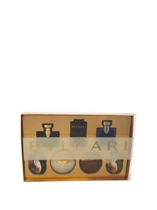 Bulgari Men   Ladies 7x 5ml EDT Miniature Fragrance Gift Set   very ... 39f1642767f