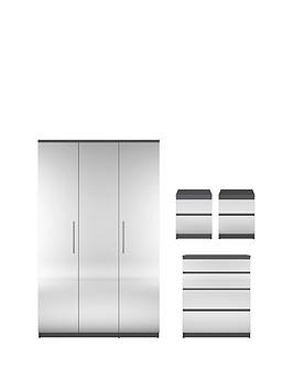 prague-mirror-4-piece-package-3-door-wardrobe-4-drawer-chest-and-2-bedside-cabinets-buy-and-save