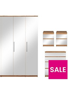 prague-mirror-4-piece-package-4-door-wardrobe-4-drawer-chest-and-2-bedside-cabinets-buy-and-save