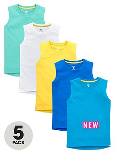 v-by-very-boys-core-tank-tops-5-pack